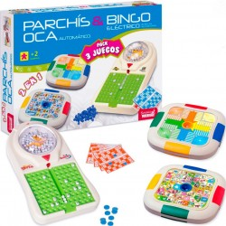 Parchís, Oca y Bingo Automático