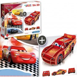 Set Cars Puzzle y Figura...