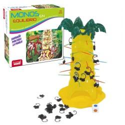 Divertido Juego de Habilidad Monos en Equilibrio