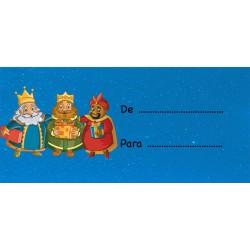 Adhesivos para Poner Nombres en Regalos Reyes Magos