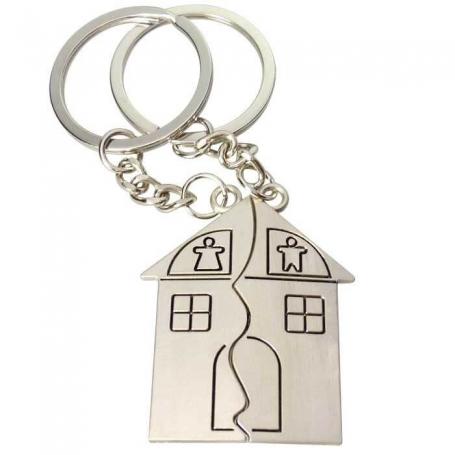 Split House Keychain