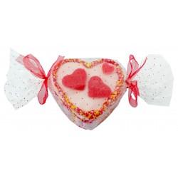 Mini Tarta de Chuches con Forma de Corazón