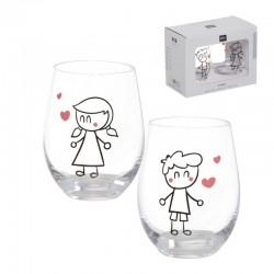 Vasos de Vidrio para Regalar