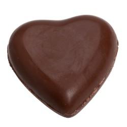 Corazón de Chocolate Relleno de Nube