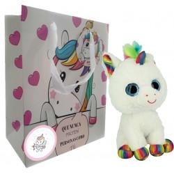 Regalo Unicornio Peluche para San Valentín