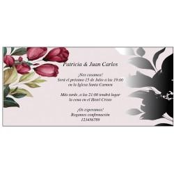 Invitaciones Bonitas con Flores