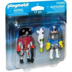 Pack Policía Del Espacio y Ladrón de Playmobil