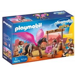 Playmobil La Película: Marla con Caballo