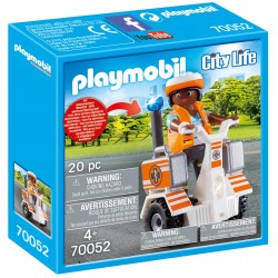 Balance Racer de Rescate de Playmobil