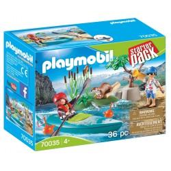 Playmobil Starter Pack Aventura en Canoa