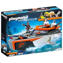 Turbonave SPY TEAM de Playmobil con Figuras