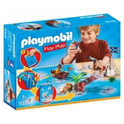 Playmobil Play Map Piratas con Accesorios
