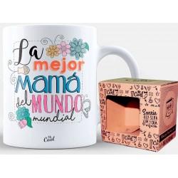 Taza Para Mamá Con frase Bonita