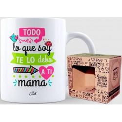 Regalo Taza para Mamá con Bonita Frase