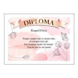 Diploma de Reconocimiento para Mamá