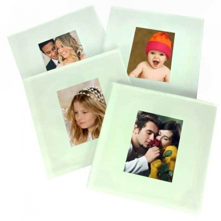 Glass Coasters with Photo