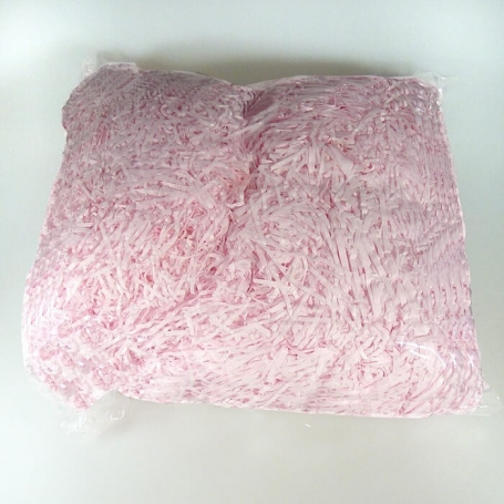 Pink Chipped Paper Shavings