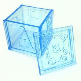 Caja Plástico para Regalos de Bautizo  Cajitas Regalitos 0,35€