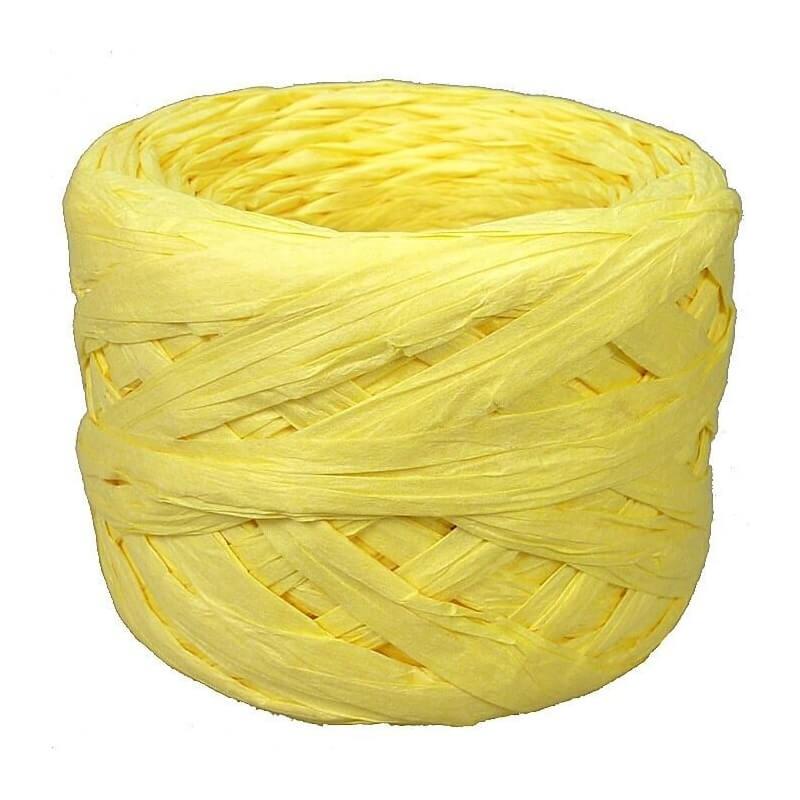 Rafia Amarilla para Decorar Regalos