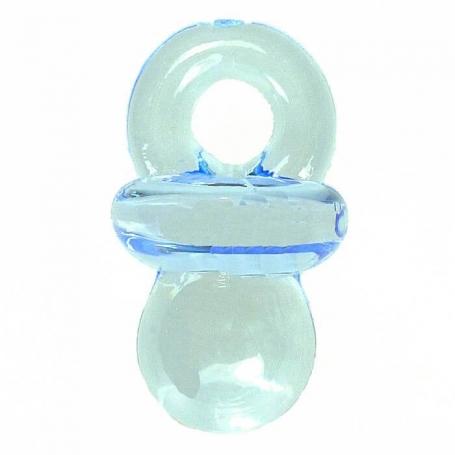 Minichupete azul para colgar Adornos para Decorar Accesorios