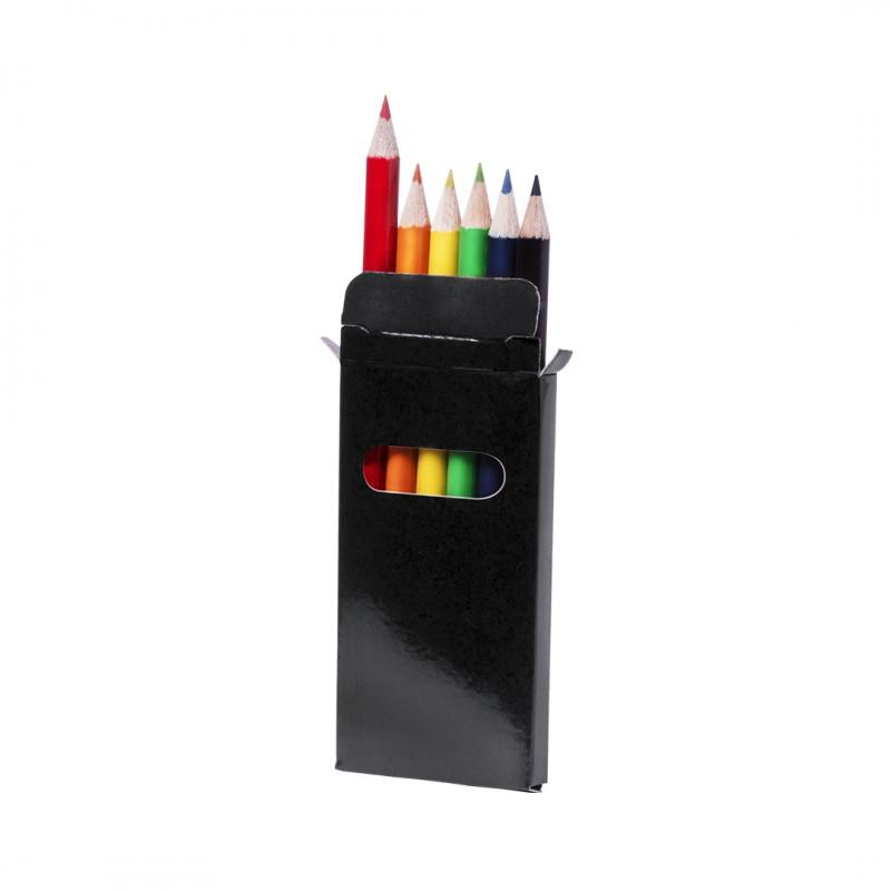 Caja Lápices Garten Color Negro