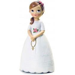Muñeca comunión tarta