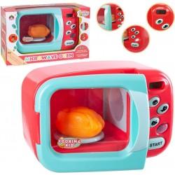 Microondas de Juguete con Pantalla LCD para Niños