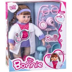 Muñeca Bonnie Doctora con Sonido y Accesorios