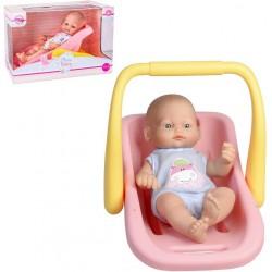 Muñeca Mini Bebé en cuco