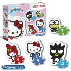 Puzzle infantil 2 años Hello Kitty