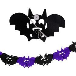 Guirnalda murciélago papel 400 cm