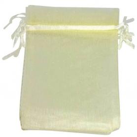 Organza Bag Beige 7x10