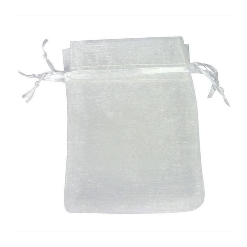 Bolsa Organza Blanco Bolsas organza 10x13 Bolsas de organza