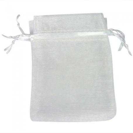 Bolsa Organza Blanco