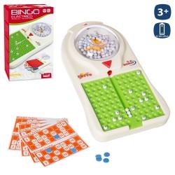 Bingo eléctrico 90 bolas 48 cartones 36 cm