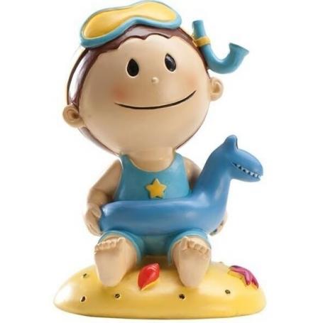 Figura de Bebe para Baby Shower Figuras tarta Detalles Bautizo