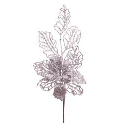 Pick poinsettia plata 33 cm