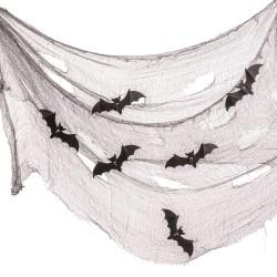 Tela decorativa murciélago 75 x 300 cm