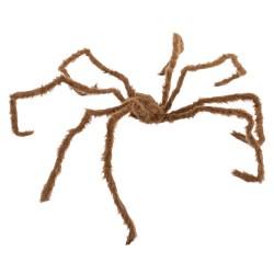 Araña gigante marrón 150 x 160 x 18 cm