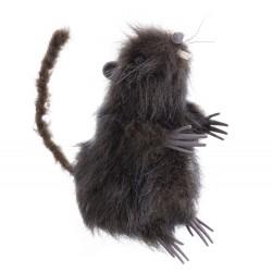Rata marrón 7 x 9 x 15 cm