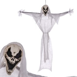 Fantasma con luz blanco 120 x 12 x 156 cm