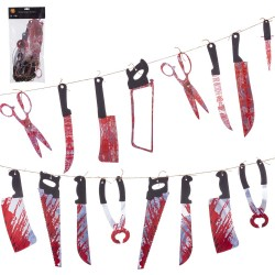 Guirnalda cuchillo 235 x 0,30 x 39 cm