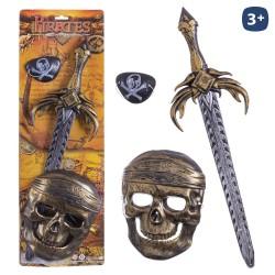 S/3 conjunto pirata 52 cm