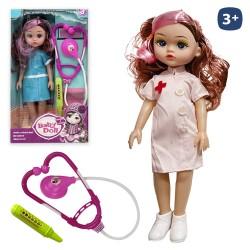 Muñeca enfermera con accesorios 2/m 29 cm
