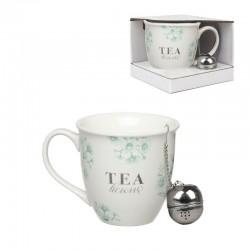 Mug con filtro para te 510ml tea time