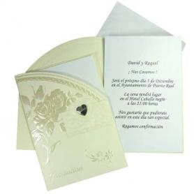 Tarjetas de Invitados para Bodas