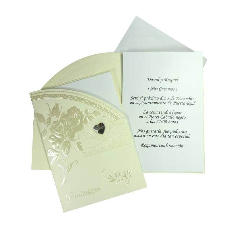 Tarjetas de Invitados para Bodas  Tarjetas