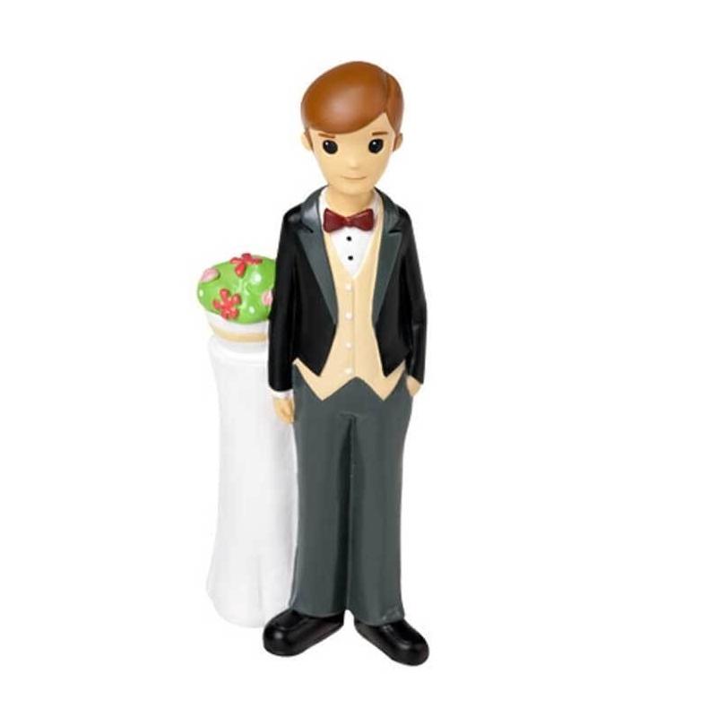Figura de Tarta de Boda Novio