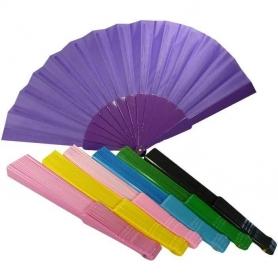 Abanicos Tela de Colores