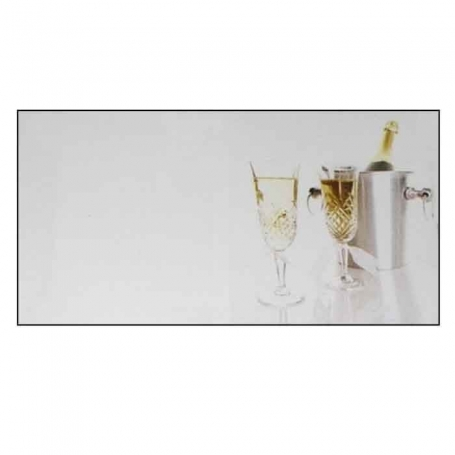Champagne Card Without Printing